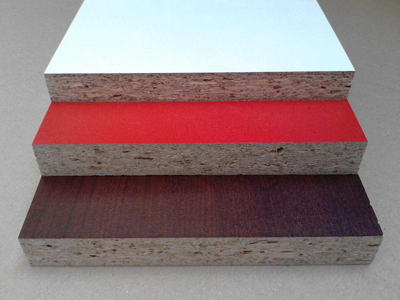 płyty wiórowe laminowane