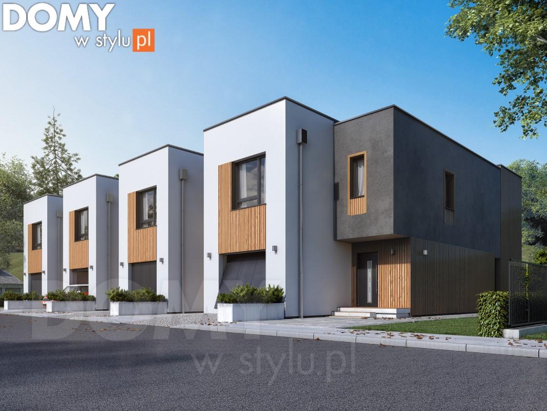Czym charakteryzują się projekty domów bliźniaczych?