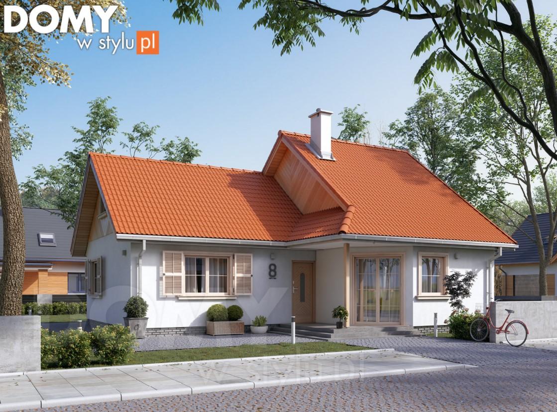 Projekt domu z poddaszem - idealny na małą działkę
