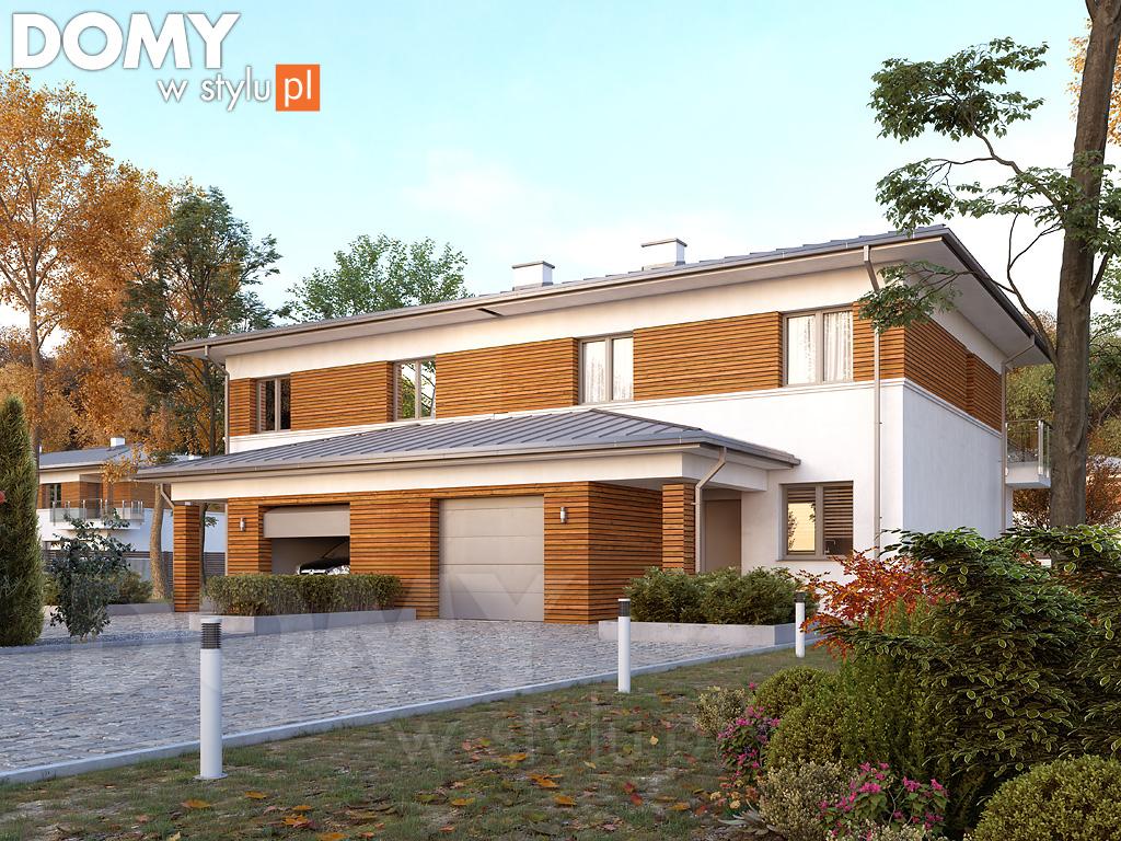 Idealne projekty domów bliźniaków